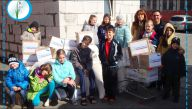 200 migrants from Donbass are provided with food through your help!