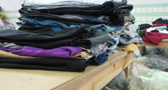 Kyivans will be able to donate the clothing to Kyiv's homeless.