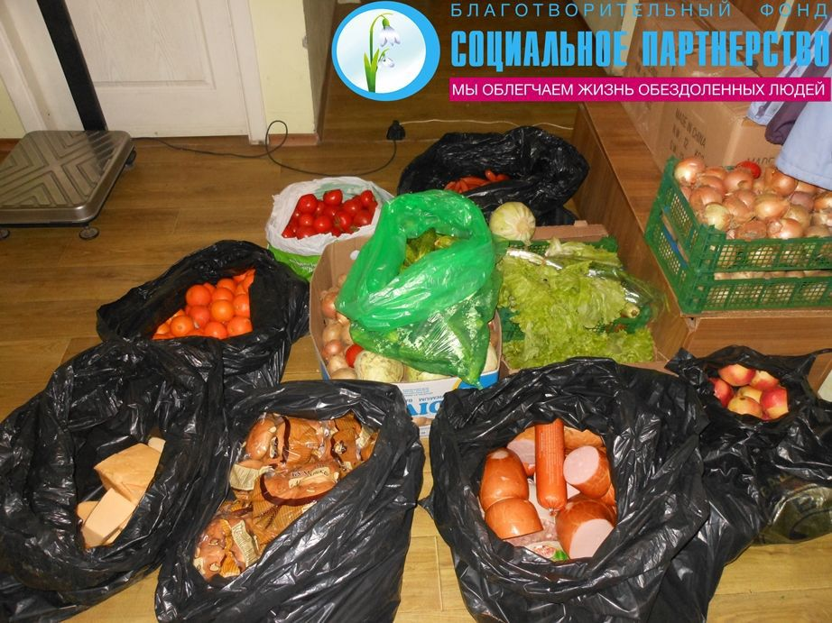 Kyivans feed the homeless