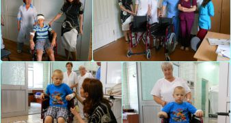 "We could help the children from ""Okhmatdet"" clinic!"