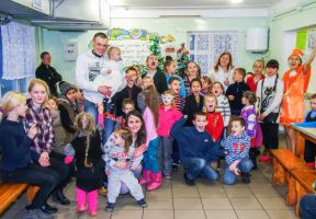 St. Nicholas congratulated children from poor and large families