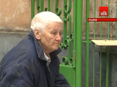 Lviv pensioner, suffering from cancer, became the homeless due to her neighbors-swindlers.