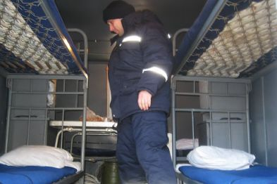 Heating points for the homeless are ready for operation at Poltavschina region