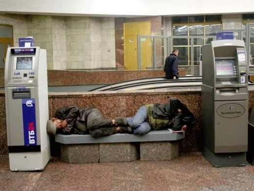 The homeless-lifesavers, that surprised Ukraine