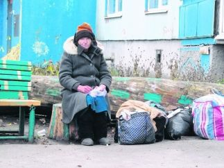 A woman from Kharkiv, which had been thrust out of the house by her daughter, was returned after two years of vagrancy.