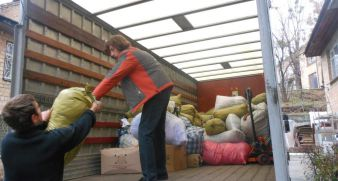 Prisoners received clothes to the amount of 100 000hryvnias!