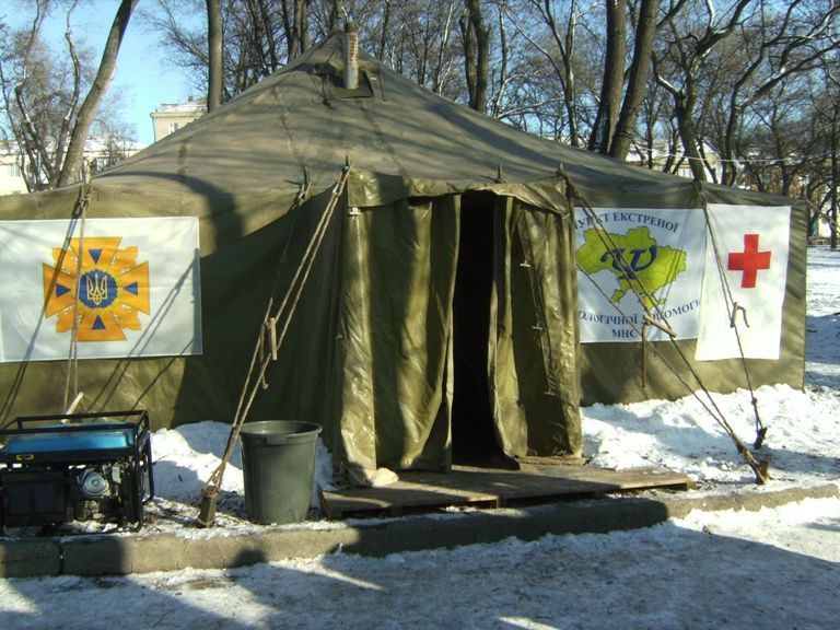 24-hour hot meals points for the homeless were opened in Zaporizhzhya