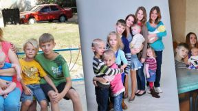Arsentjevs' large family