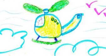 Helicopter for Maxim, 6 years old, 150 UAH