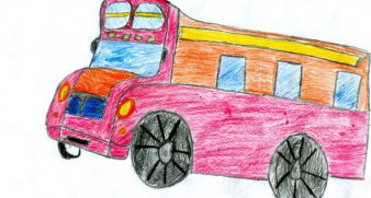 Truck on the radio for Elijah, age 8, 350 UAH