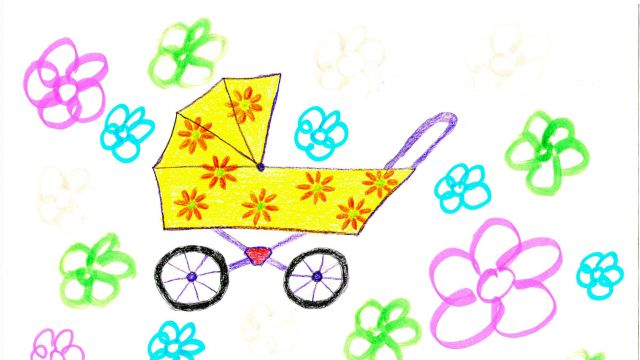 Carriage for a doll for Eve, 2 years, 400 UAH