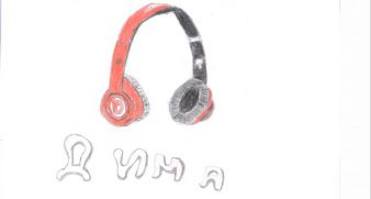 Kaszuba Dmitry, 14 years - headphones, 500 UAH